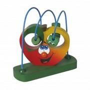 Яблочко-серпантинка игрушка фото