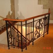 Ограждения балконов, лестниц кованые фото