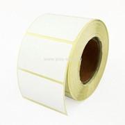 Этикетки 58х30 мм (термобумага ТОП, съемный клей) (900 эт. в рол., вт.40) фото