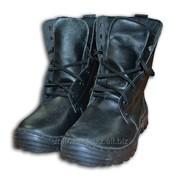 Ботинки ОМОН с высоким берцем нат. мех фото