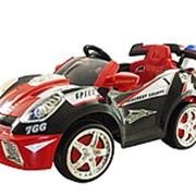 Электромобиль Zilmer «Гонка-1201В» чёрно-красный, арт. ZIL1812-064 фото