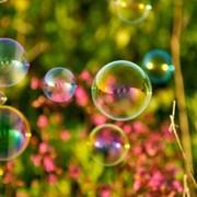 Организация детских праздников - мыльные пузыри, стоимость праздника мыльными пузырами. фото