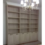 Книжный шкаф на заказ фото
