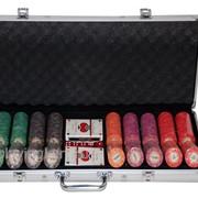 Покерный набор на 500 керамических фишек с номиналом ГД8 фото