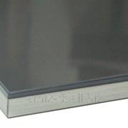 Фасад Антрацит глянец - Антрацит, кромка 3D фото