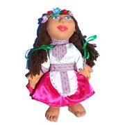 Кукла из глины фото