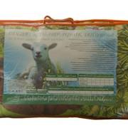 Одеяло детское в пакете, цв.вкладыш шерсть облегч. Овечья (200г/м2)й 118х118 Поликоттон фото