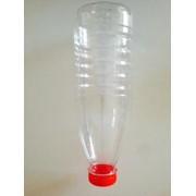 ПЭТ бутылка прозр. 0,93мл с широким горлом д. 38 с крышкой фото