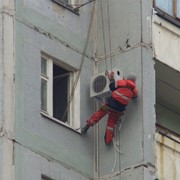 Монтаж кондиционеров фото