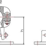 Зажим опорный для присоединения к шине (типа ОЗТ2) фото