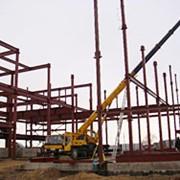 Монтаж металлоконструкций каркасов зданий