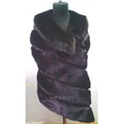Пошив женских жилетов из натурального меха фото