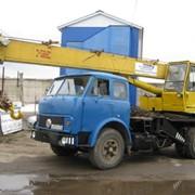 Аренда автокрана МАЗ-5337 КС3577 фото