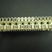 Плинт LSA PROFIL® 6089 1 121-06 на 10 пар с нормально замкнутыми контактами (6036 1 005-00 и 6036 1 005-06) фото