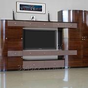 Стенка-горка для гостиной фабрики АСТ 03 фото