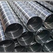 Воздуховод круглый спирально-навивной диаметром 450 мм. фото