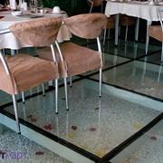 Скляна підлога з гартованого скла фотография