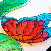 Обучение росписи по стеклу фото
