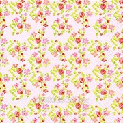 Салфетка для декупажа Мелкие цветочки розовые фото