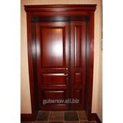 Входные двери из дуба фото