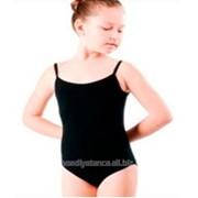 Купальник гимнастический бретельки лайкра размер 28-36 фото