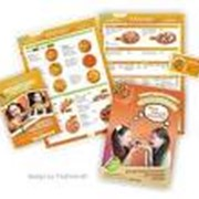 Разработка макетов визиток, бланков, этикеток, буклетов, папок, календарей, плакатов и другой рекламной продукции. фото