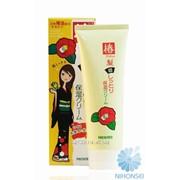 Экстра увлажняющий крем для сухих и непослушных волос Yanagiya Tsubaki Oil Hair Care 120мл 4903018203523 фото