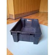 Ящик пластиковый 600х400х200 фото