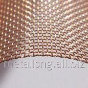 Сетка тканая бронзовая 0,08х0,055 БрОФ6,5-0,4 фото