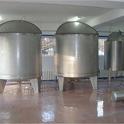 Изготовление ёмкостей для молочной промышленности фото