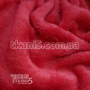 Ткань Махра (велсофт) коралл-розовый 5450 фото