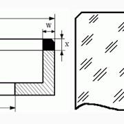 Круги алмазные шлифовальные для обработки кромки, фацета стекла на органической связке формы 6А2-П фото