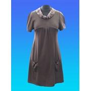 Платье из трикотажа фото