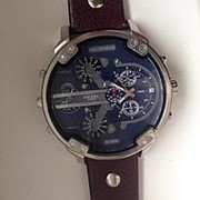 Часы Diesel Brave + портмоне Hugo Boss фото