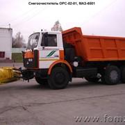Снегоочиститель ОРС-02-01, МАЗ-6501