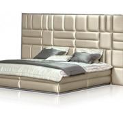 Кровать Каролина Базовый размер: 215 x 360 h 166 см. фото