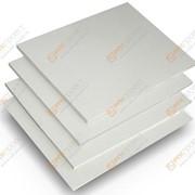 Пластик ПВХ 3мм вспененый белый фото
