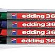Набор маркеров для доски Edding 361/4S, 1,0мм, 4цв/уп фото