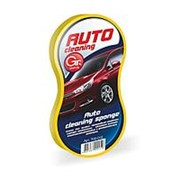 Губка Grifon для мытья автомобиля 14,5*3,5*1см, прессованная 700-017 /100/ фото