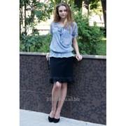 Блуза 6501 Серый цвет фото
