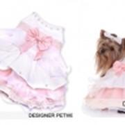 Платье для собак невеста