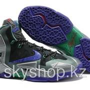 Кроссовки Nike LeBron XI 11 Blue Black Purple Elite 2014 40-46 Код LBXI08 фото
