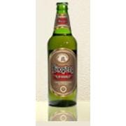 Полутемное непастеризованное пиво Бюргер. фото