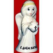Статуэтка Ангел с горшочком фото