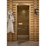 Дверь Прозрачная кноб сосна 690*1890 см фото