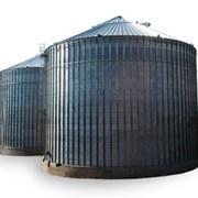 Стальные, металлические силосы для хранения зерна сборного типа фото