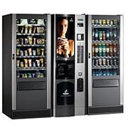 Торговая комбинированная линия для продажи горячих и охлажденных напитков и фасованных товаров и банок BVM 952 + 2 BVM 671 фото