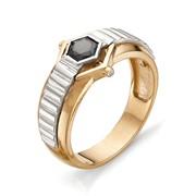 Мужское кольцо из красного золота фото