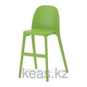 Детский стул зеленый УРБАН фото
