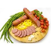 Колбаса варёно-копчёная Тирольская микс, салями бессортовая фото